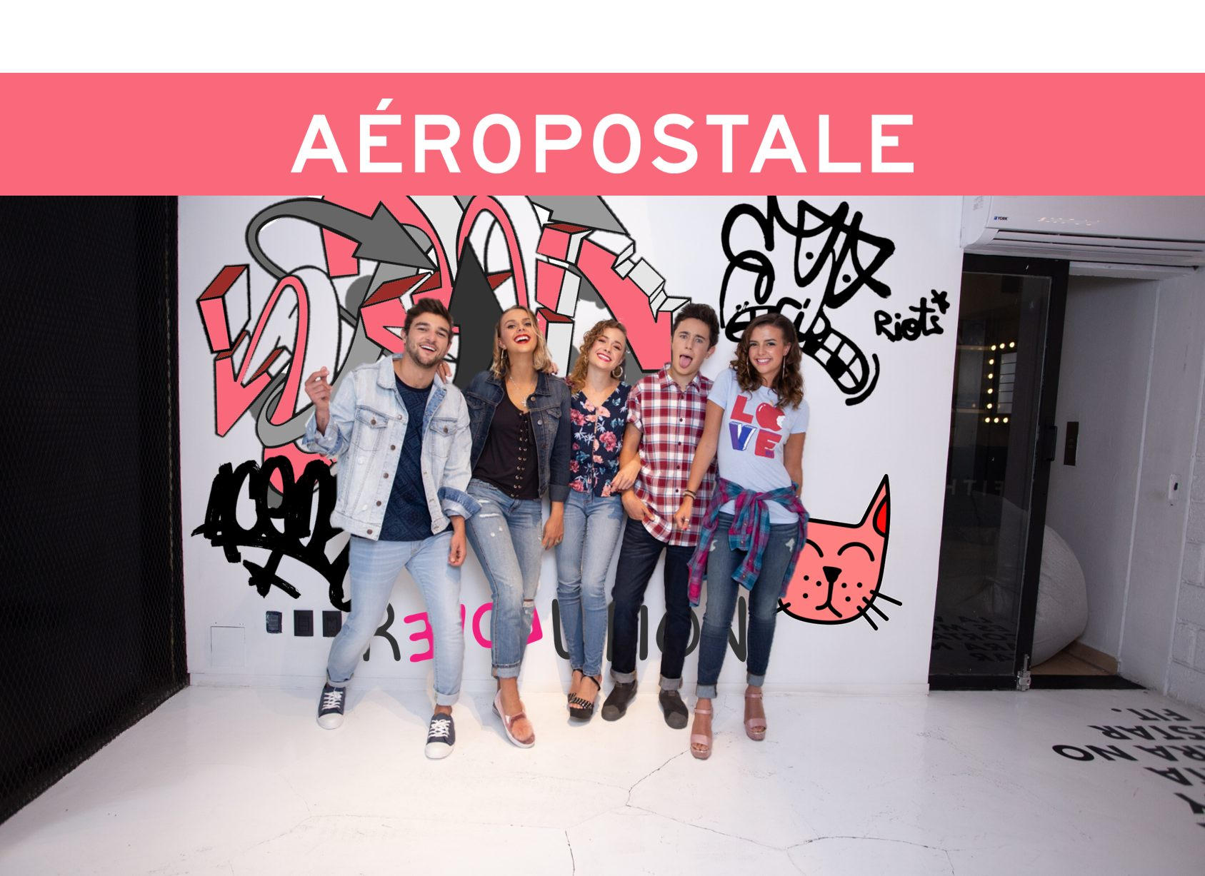 Aéropostale -Too Cool For School